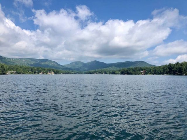 Lake Toxaway in North Carolina
