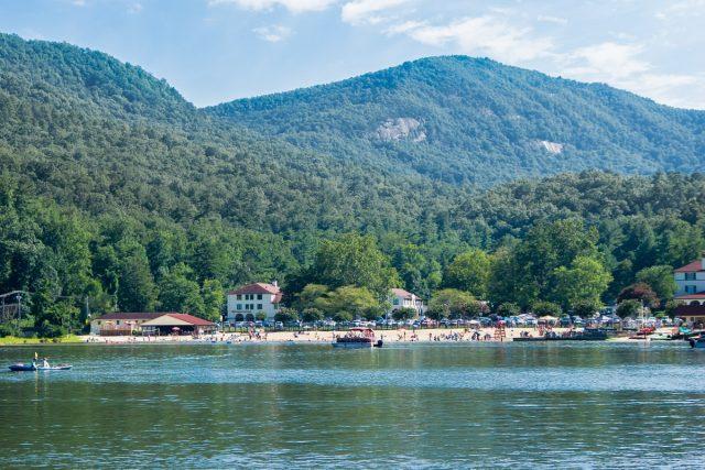 Lure Lake in North Carolina