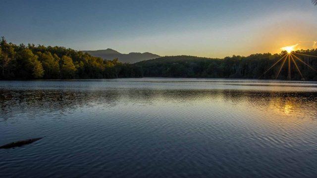 Price Lake in North Carolina