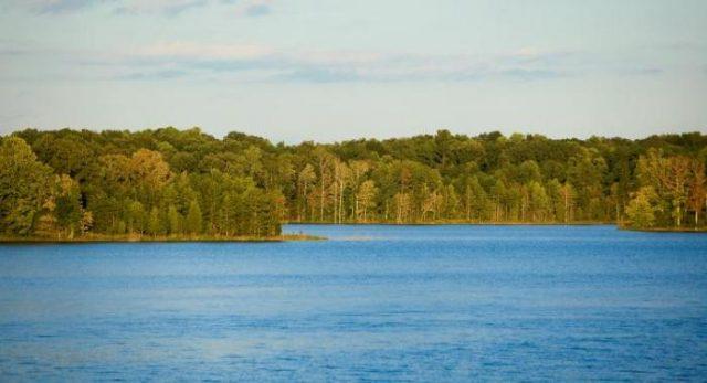 Randleman Lake in North Carolina