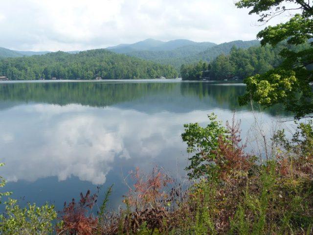 Tahoma Lake in North Carolina