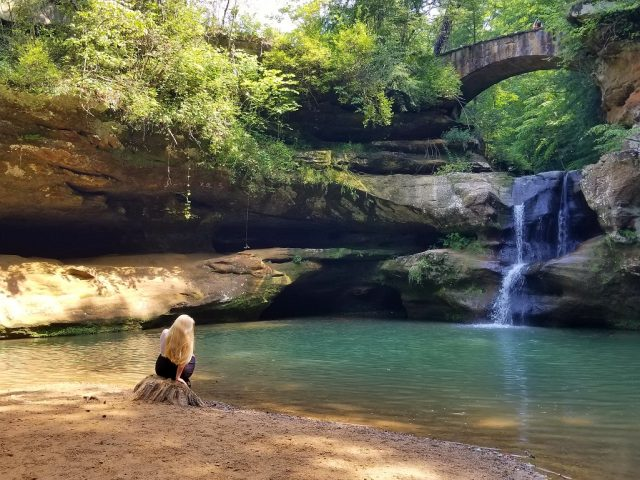 Amphitheater Falls in Ohio