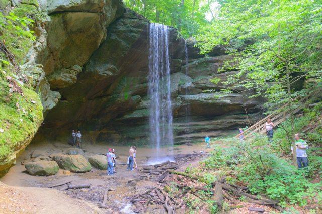 Big Lyons Falls in Ohio