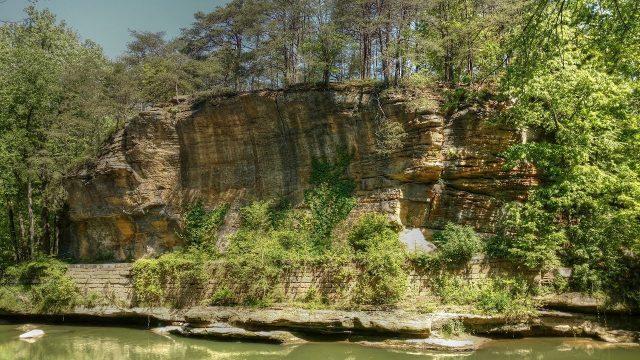 Blackhand Gorge Waterfalls in Ohio