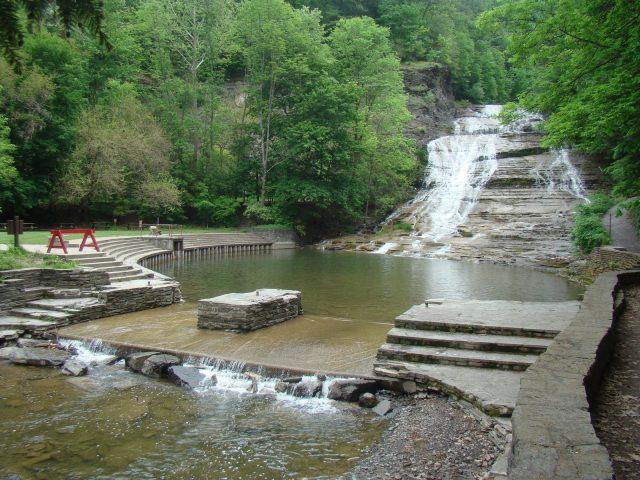 Buttermilk Falls in Ohio