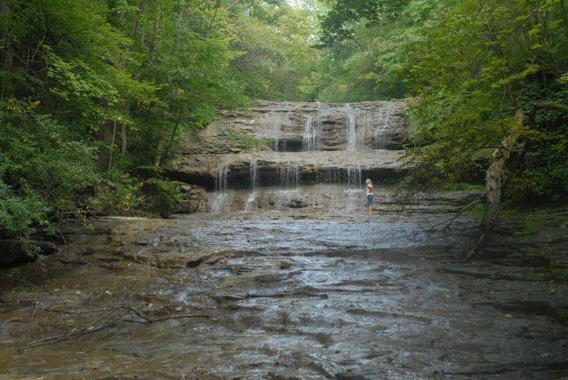 Fallsville Falls in Ohio