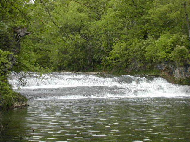 Greenville Falls in Ohio