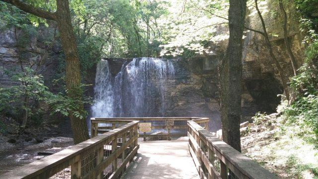 Hayden Falls in Ohio