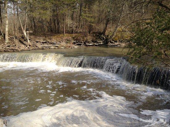 Horseshoe Falls in Ohio