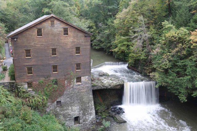 Lanterman's Falls in Ohio