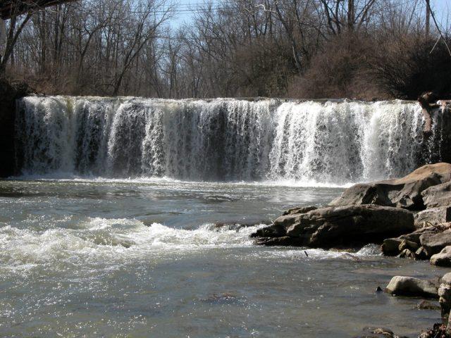 Ludlow Falls in Ohio