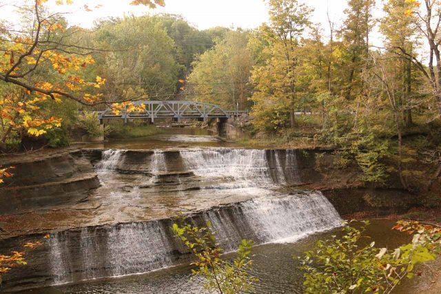 Paine Falls in Ohio