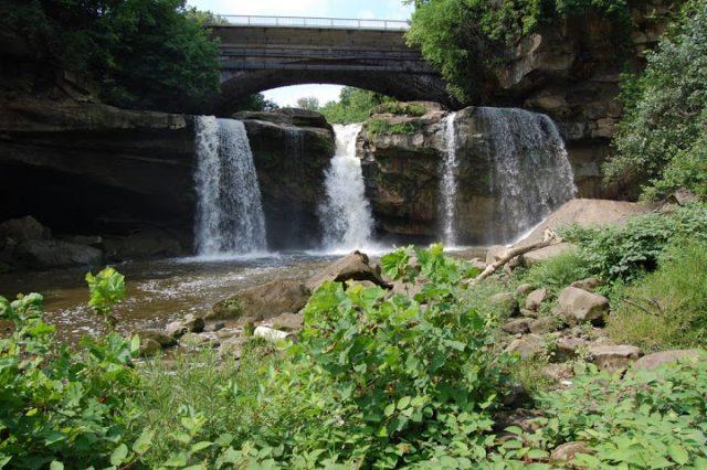 West Falls in Ohio
