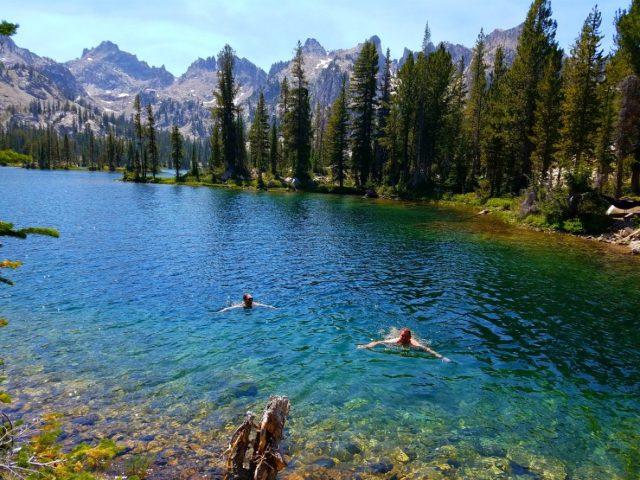 Alice Lake in Central Idaho