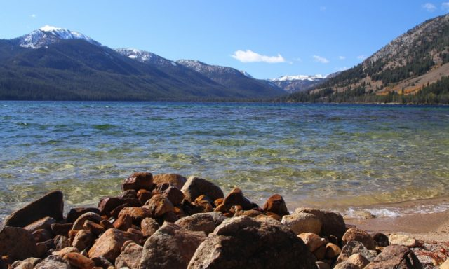 Alturas Lake in Central Idaho