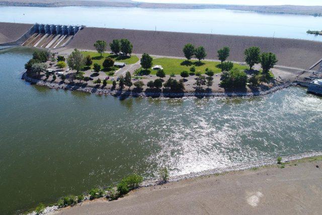 C.J. Strike Reservoir in Southern Idaho