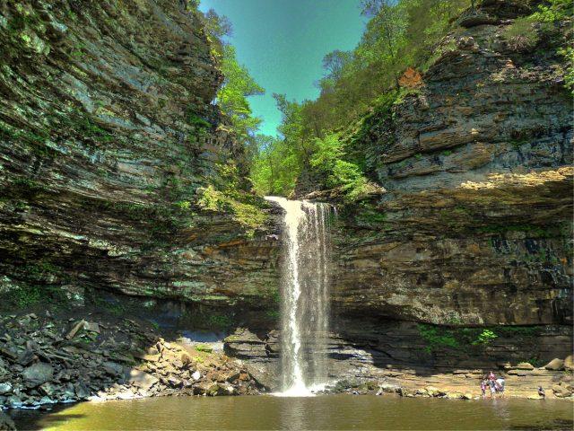 Cedar Falls in Central Arkansas