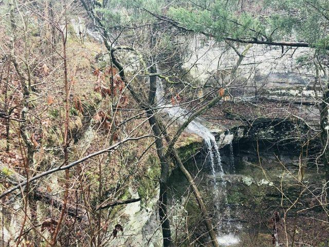Cougar Falls in Northern Arkansas