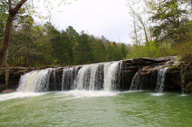 Falling Water Falls in Northern Arkansas