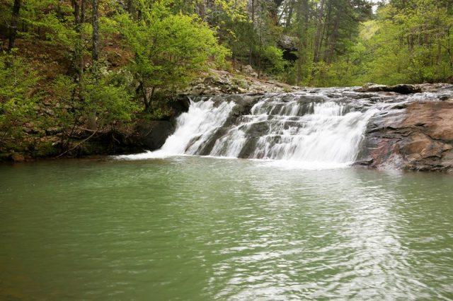 Forked Mountain Falls in Western Arkansas