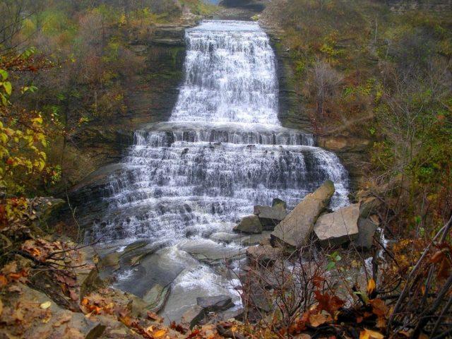 Hamilton Falls in Northern Arkansas