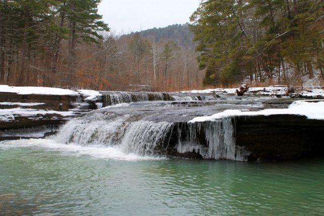 Haw Creek Falls in Northern Arkansas