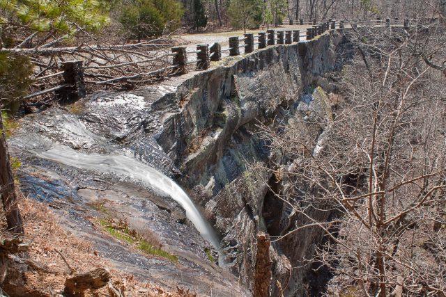 Kings Bluff Falls in Northern Arkansas