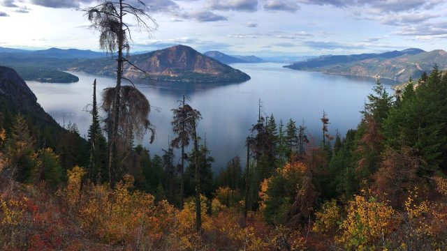 Lake Pend Oreille in Northern Idaho