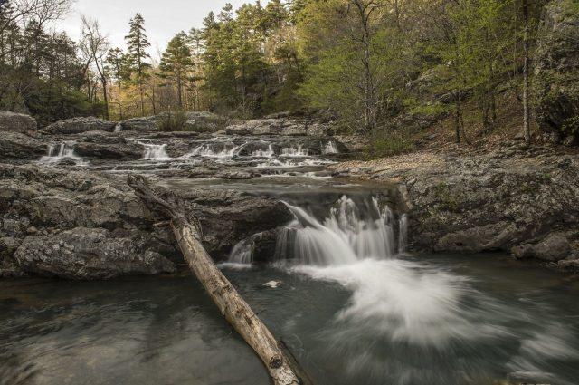 Little Missouri Falls in Western Arkansas