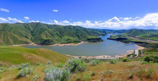 Lucky Peak Reservoir in Southern Idaho