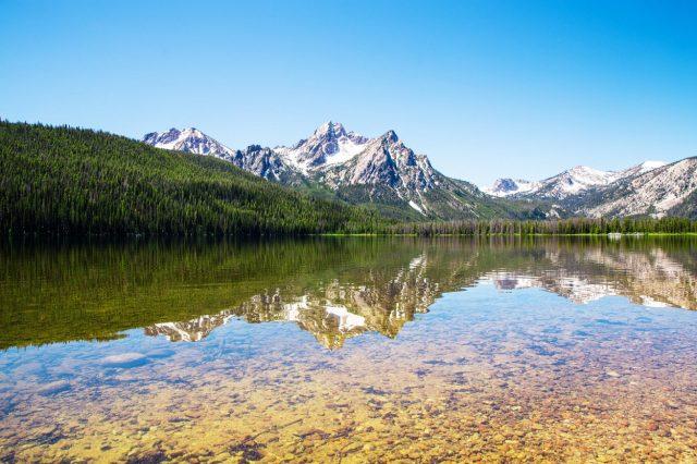 Redfish Lake in Central Idaho