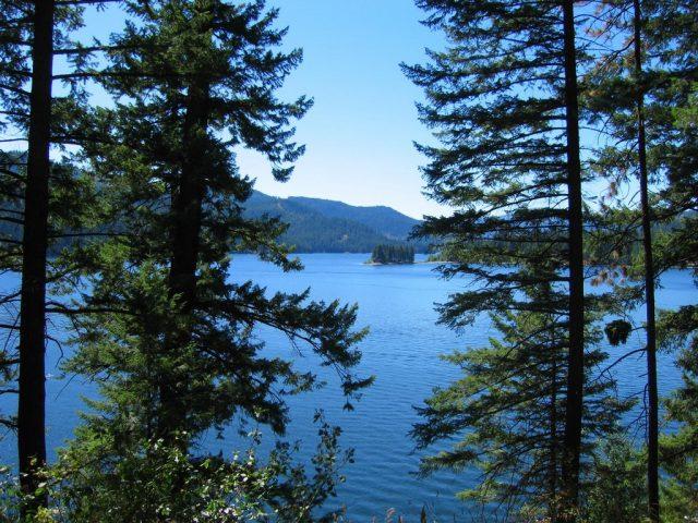 Spirit Lake in Northern Idaho