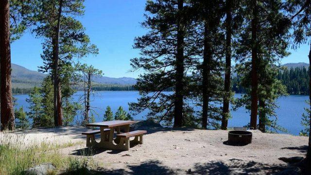 Warm Lake in Northern Idaho