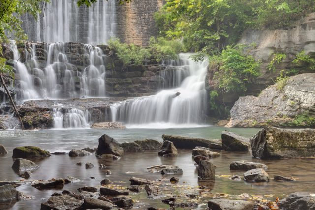 Waterfalls in Arkansas