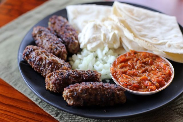 Cevapi Bosnian Food
