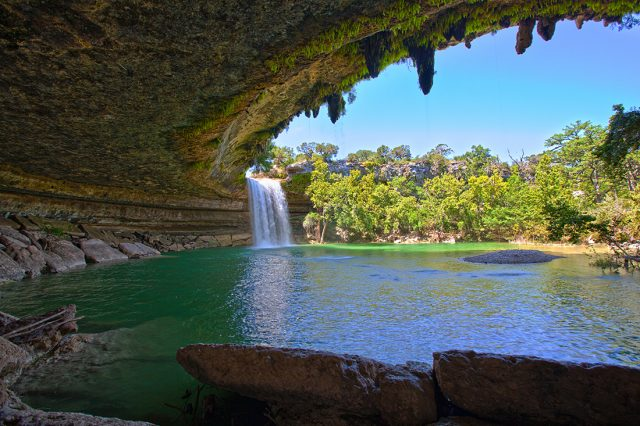 Hamilton Pool Waterfall