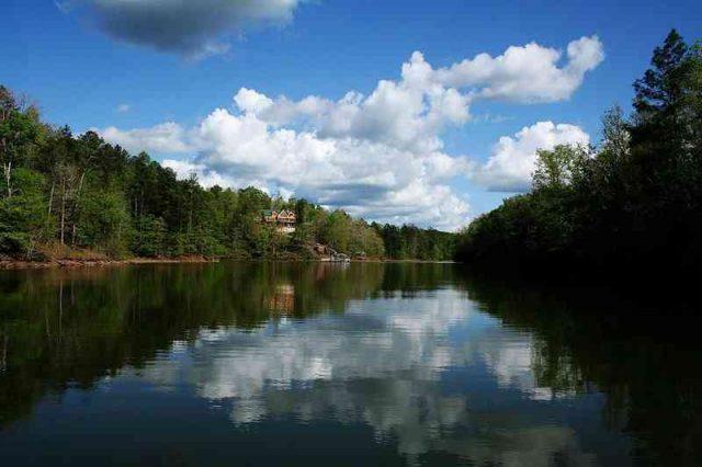 Lake Wedowee Central Alabama