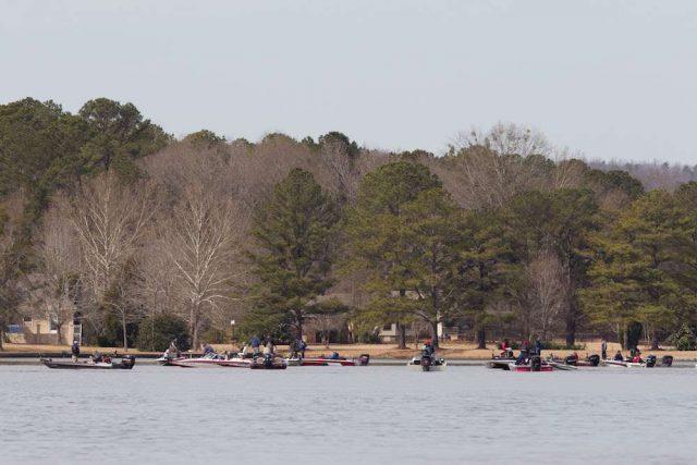 Lay Lake in Eastern Alabama
