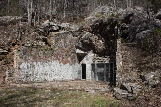 Bangor Caves in Central Alabama