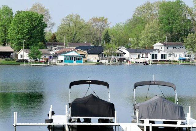 Barbee Lake in Northern Indiana