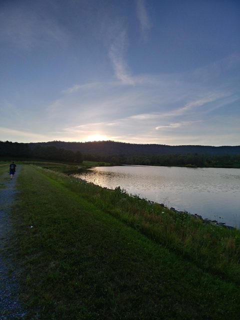 Blairs Valley Lake in Western Maryland