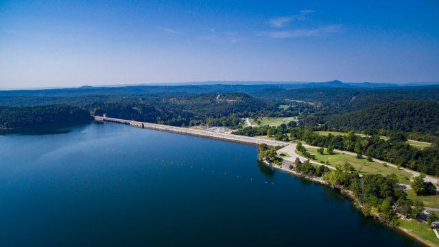 Bull Shoals Lake in Northern Arkansas