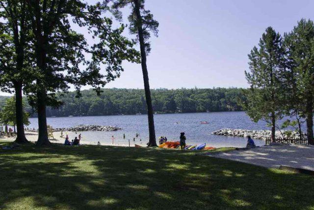Deep Creek Lake in Western Maryland