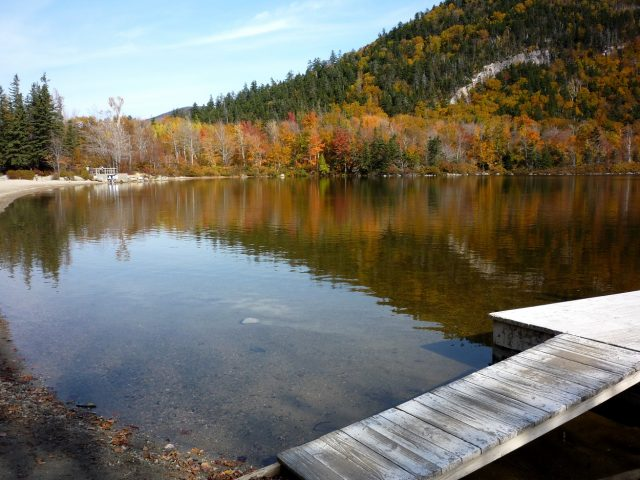 Echo Lake in New Hampshire