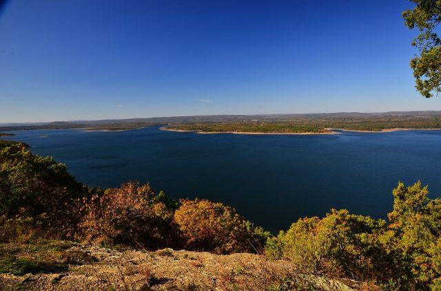 Greers Ferry Lake in Northern Arkansas