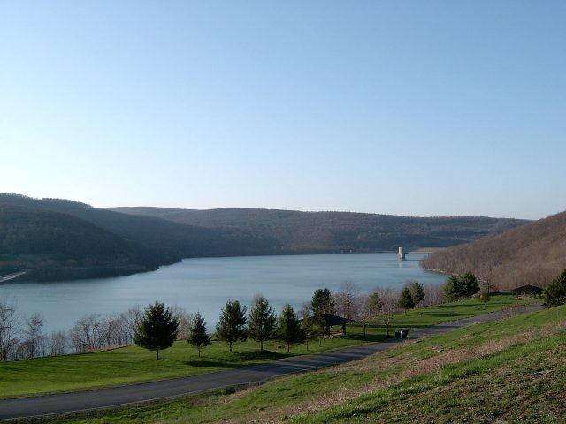 Jennings Randolph Lake in Western Maryland