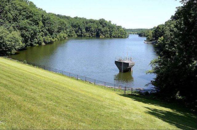 Lake Bernard Frank in Central Maryland