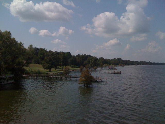 Lake Chicot in Southern Arkansas