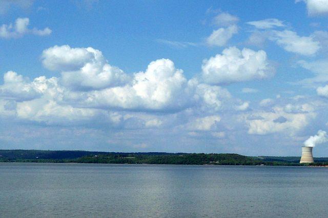 Lake Dardanelle in Western Arkansas
