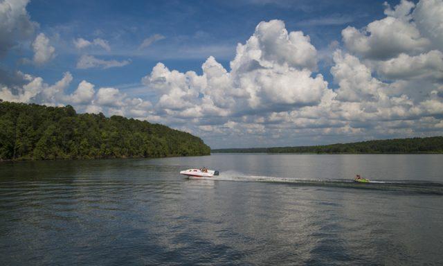Lake Greeson in Southern Arkansas